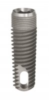 Implant Tapered Screw Vent  (TSVM - 0.5mm Machined Collar with Crestal Microgrooves) with MTX Surface
